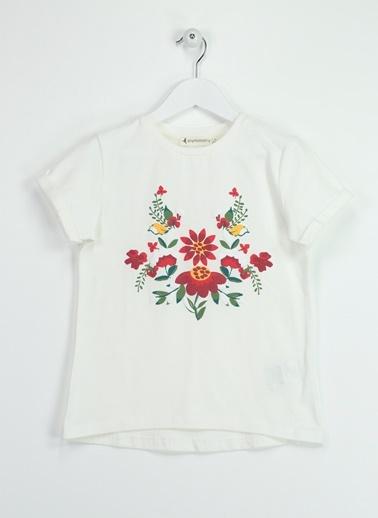 Morhipo Kids Çiçek Baskılı Tişört